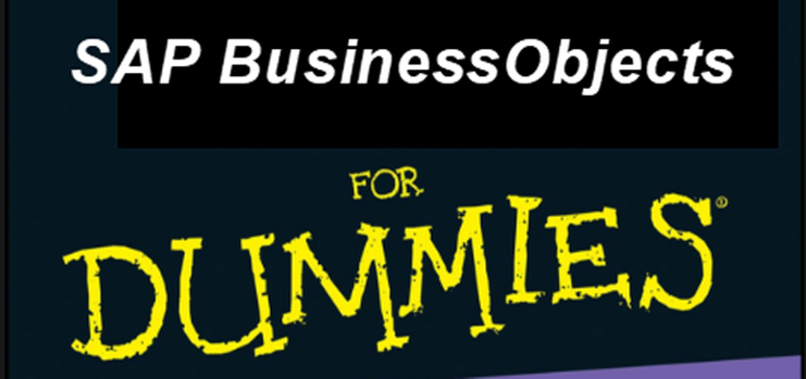 SAP BusinessObjects for Dummies